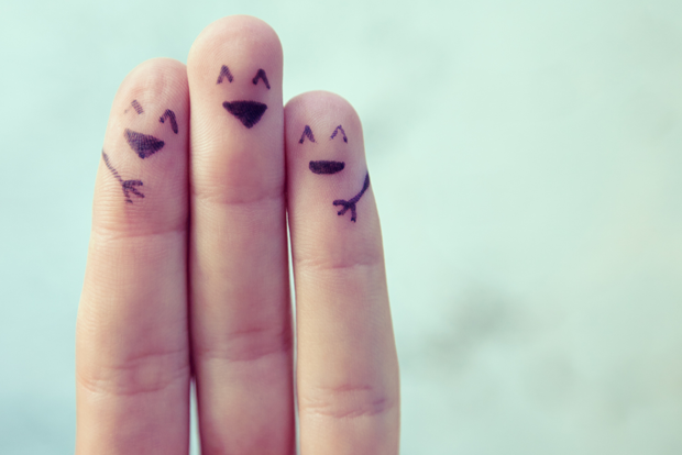 세 손가락