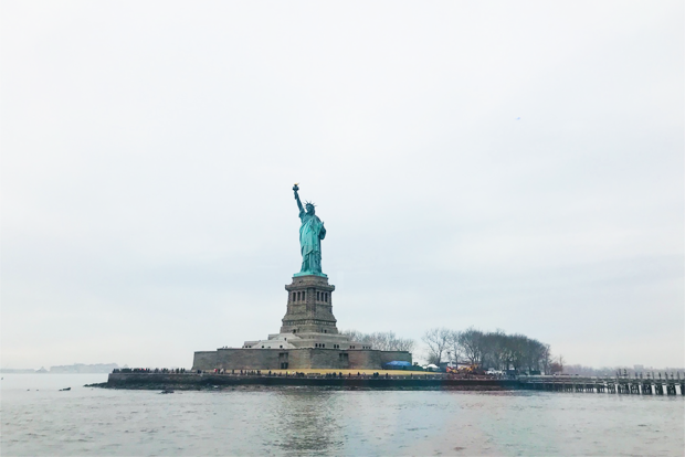 뉴욕의 대표 상징물 자유의 여신상