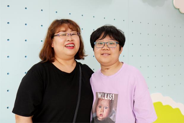 희귀난치질환인 '고함스병'과 투병 중인 승재와 엄마 임희진 씨