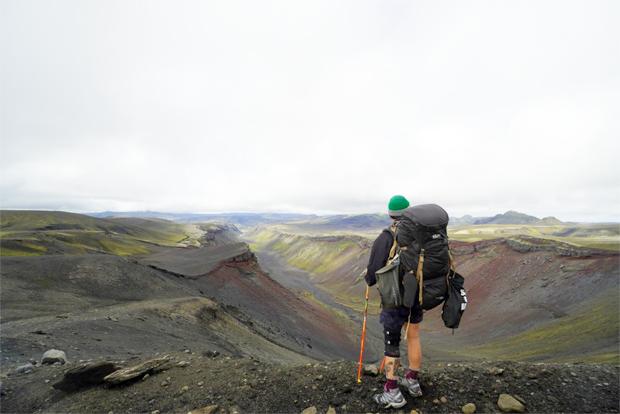 장애어린이를 위해서 아이슬란드 200km를 종단하며 모금을 펼친 김채울 씨