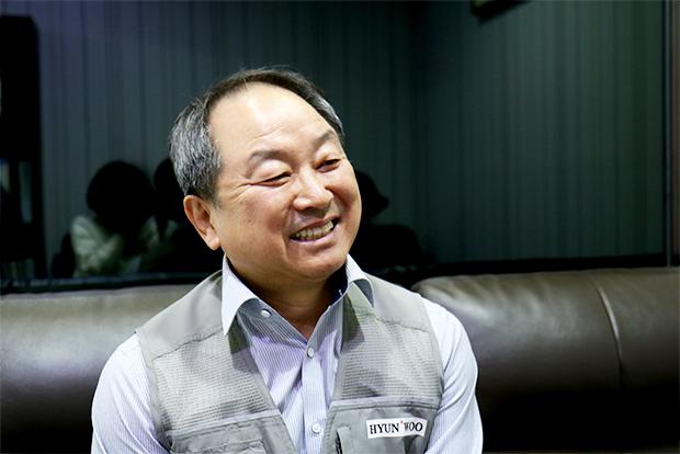 매달 국민연금 수령액을 기부하는 김상현 씨