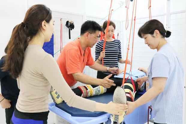 푸르메재단 넥슨어린이재활병원의 집중운동프로그램 교육 과정