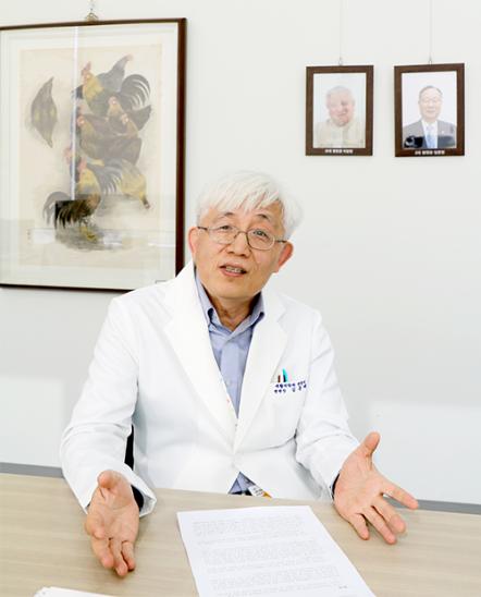 김윤태 신임 푸르메재단 넥슨어린이재활병원장
