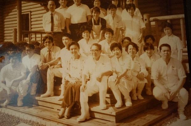 초창기 모쿠모쿠 농장을 만들었던 사람들