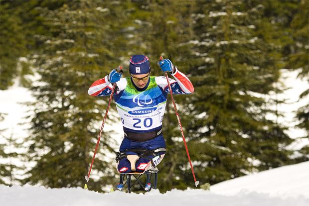 2010년 밴쿠버 동계패럴림픽 바이애슬론 경기에서 동메달을 딴 앤디 셀레(Andy Soule)