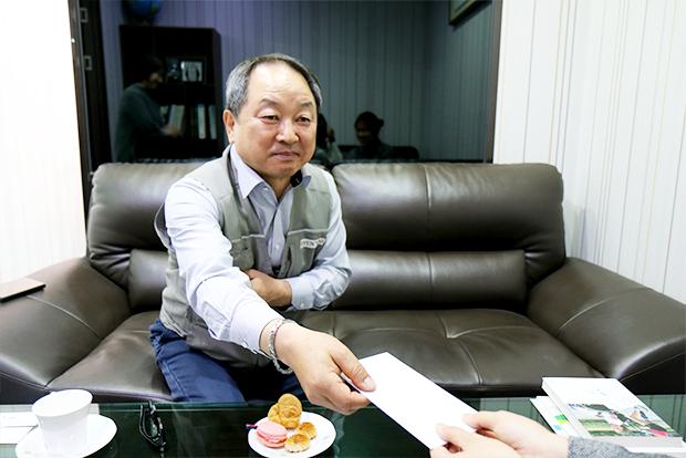 정기기부금에 더해 일시기부금을 전달한 김상현 기부자의 따뜻한 마음