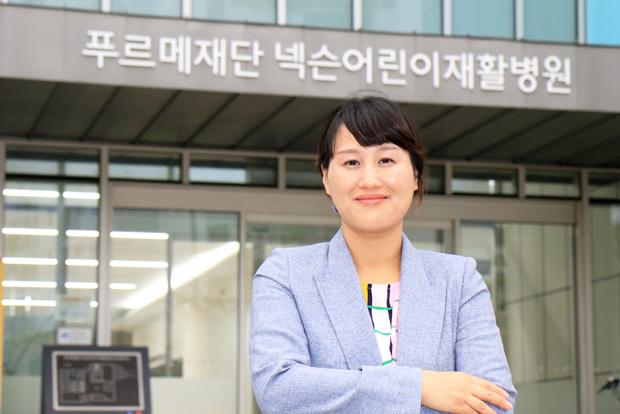 마포구 상암동 주민이자 어린이재활병원을 지키는 기부자 황혜진 씨