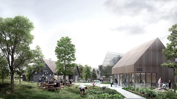 네덜란드에서 건립 중인 자립형 스마트팜 공동체마을 ⓒEFFEKT Architects