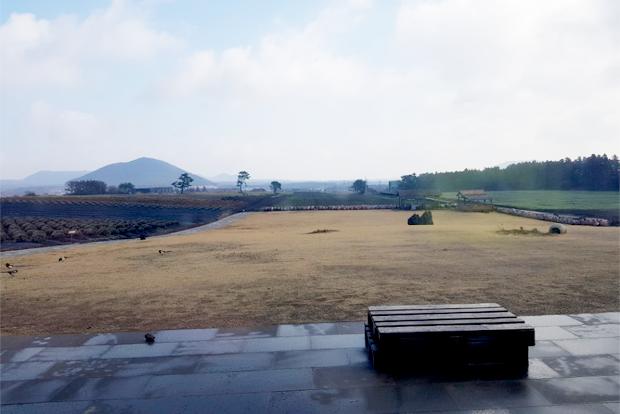 제주 한라산 자락에 위치한 한울영농법인 보롬왓 농장