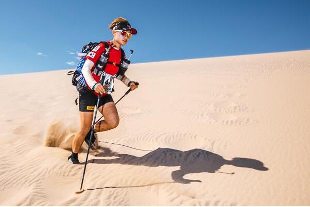 장애어린이를 위해 사하라 사막 마라톤을 완주한 김채울 씨.