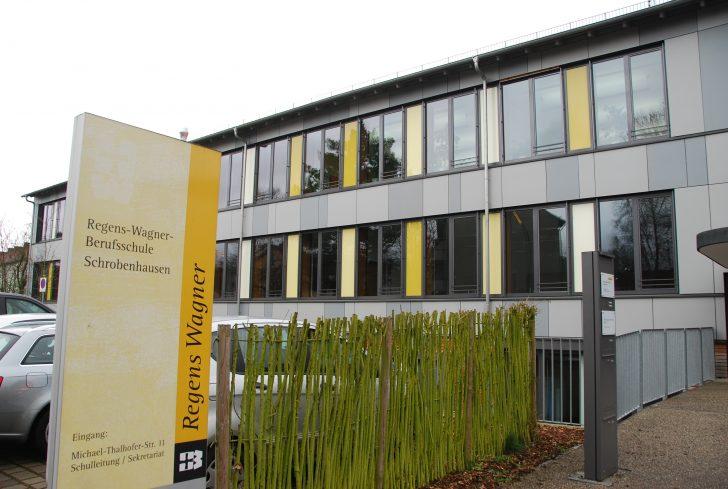 ▲ 독일 남부 슈로벤하우젠에 위치한 레겐스 바그너 직업학교의 전경