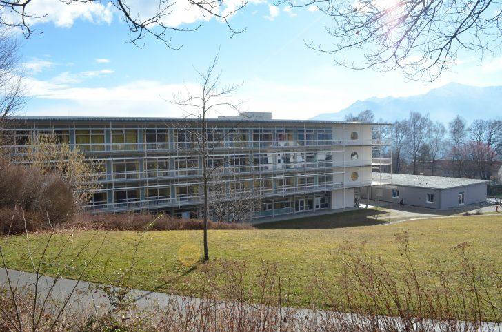 ▲ 독일 뮌헨에서 남서쪽에 위치한 베루프스 게노센샤프트 운팔클리닉 무르나우 산재 재활병원의 전경