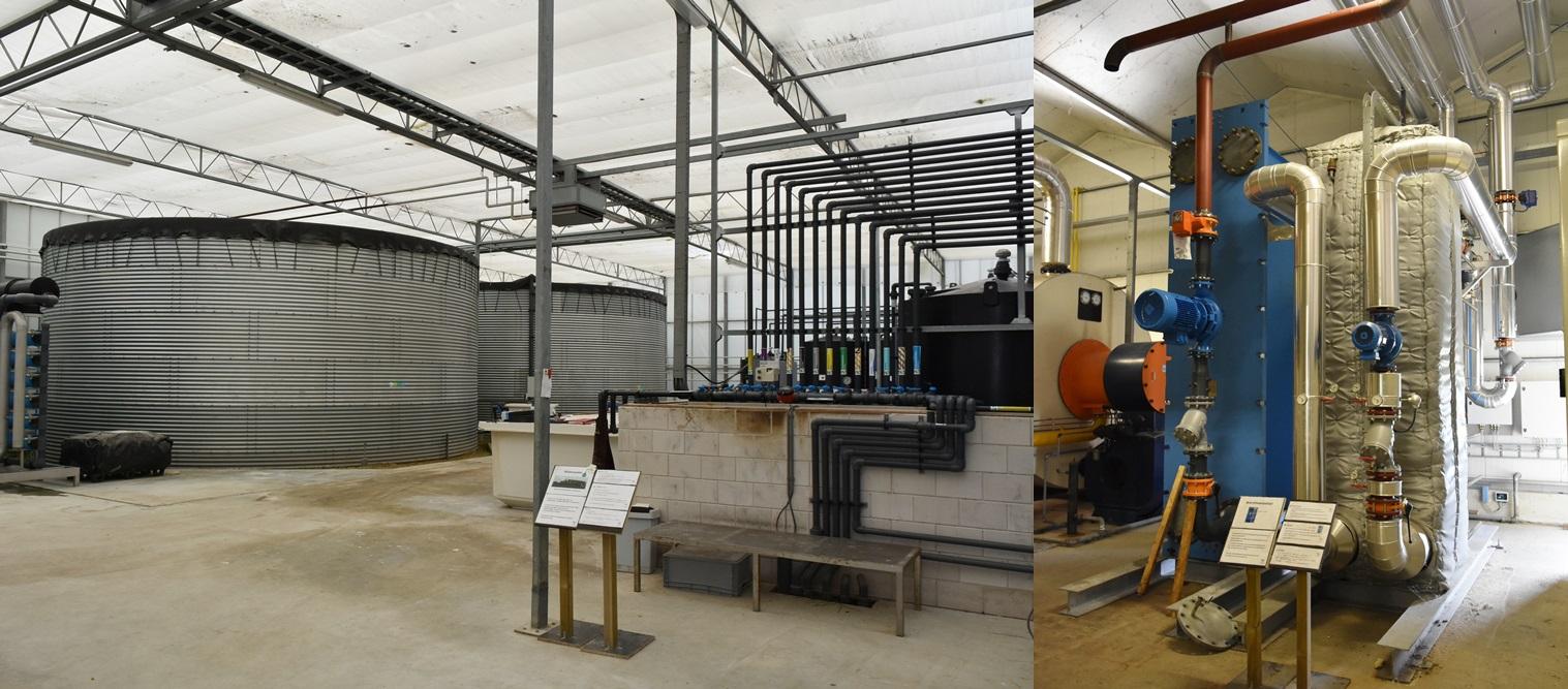 베쥬크 농장의 다양한 설비 사진.