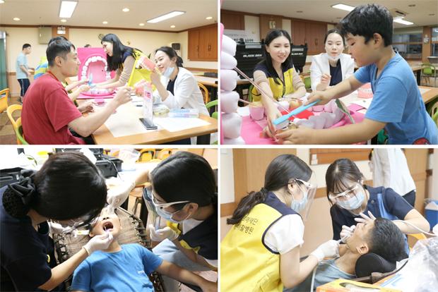 이동치과는 장애인 거주시설을 찾아가 치과 치료와 구강관리 교육을 진행합니다.
