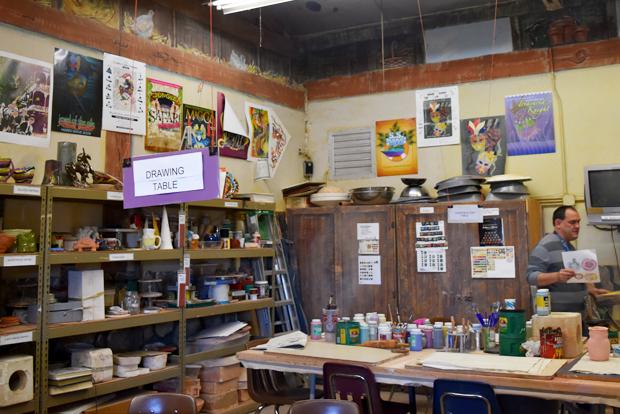 조형예술 교육실.