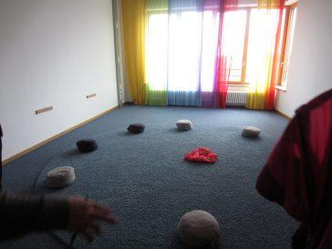 ▲ 학생들의 정서적인 안정을 유도하는 심리안정 프로그램실