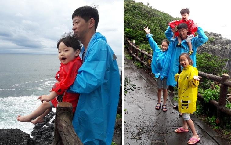 가족의 바다산책