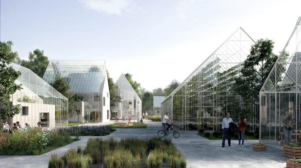 친환경 스마트팜 공동체 Regen Village 조감도 (제공 : EFFEKT Architects)
